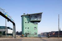 Langebro Bridge in Copenhagen, Denmark