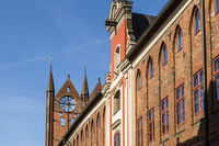 City hall, Stralsund, Germany
