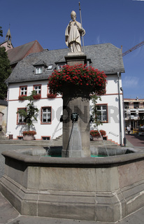 Lullus fountain of Bad Hersfeld