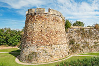 The castle in the city of Chios, Greece