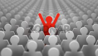 leader red man