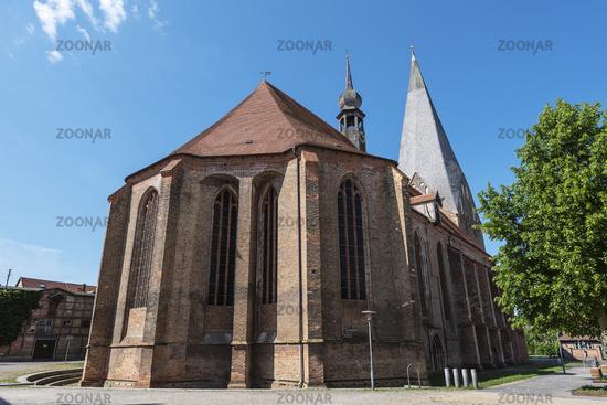 abbey church, Buetzow, Mecklenburg-Western Pomerania, Germany, Europe