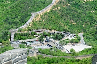 Tourist center Badaling China