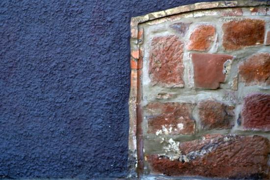 Wall close-up