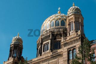 Landmarks in Berlin - Neue Synagoge (New Synagoge) in Berlin, Germany