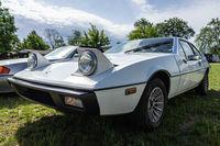 Sports car Lotus Eclat, 1977. Die Oldtimer Show 2019.