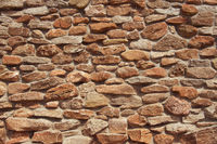 natural rocks wall texture and pattern