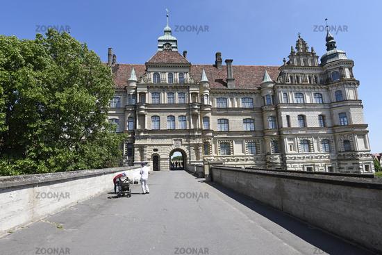 Renaissance castle, Guestrow, Mecklenburg-Western Pomerania, Germany, Europe
