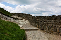 ancient wall - III - Tintagel - Cornwall - UK