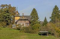 Building near Basadingen-Schlattingen, Canton Thurgau, Switzerland