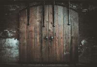 Old Barn Door in Port Townsend, WA