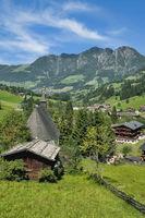 Village of Inneralpbach in Alpbachtal,Tirol,Austria