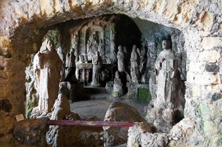 Heiligenfiguren, Höhlenkirche, Chiesa die Piedigrotta