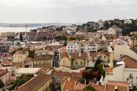 view of the old town, Lisbon, Portugal