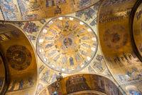 Interior of Basilica di San Marco in Venice