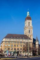 Rathaus Schöneberg in Berlin, Deutschland