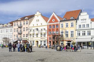 Häuser am Markt, Greifswald