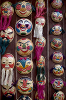 Vietnamese decorative masks
