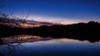 Sunset at Stone Lagoon, Humboldt County, California