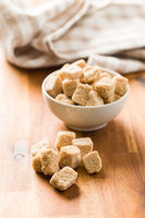 Brown sugar cubes.