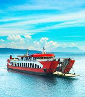 Bali Java ferry boat, Indonesia