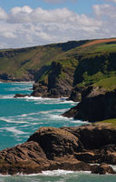Tintagel coastline- I - Cornwall - UK
