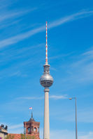 The television tower / Tv Tower (Fernsehturm)