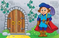 Prince by old door theme image 2