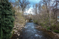 gatlinburg tennessee city in smoky mountains