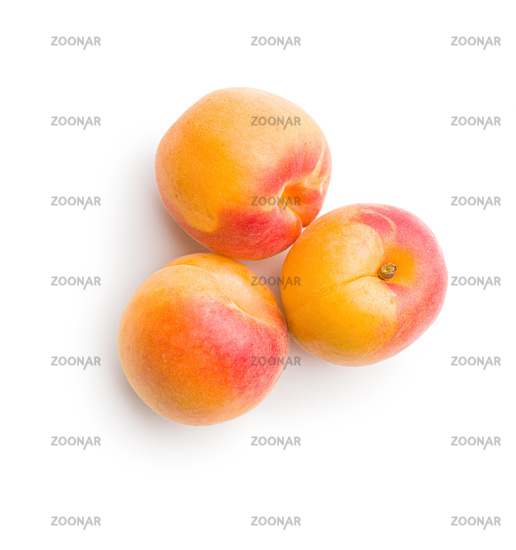 Sweet apricot fruits.