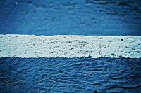 white blue wall