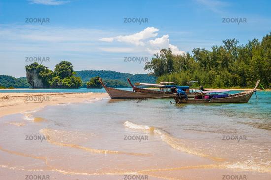 Thai boats, Krabi