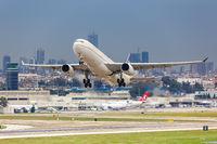 Saudi Arabian Airlines Airbus A330 airplane Beirut airport