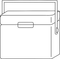 Cooler Icon Vector