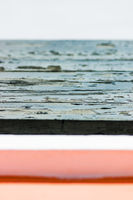 Detail of Beach Cabins Textures