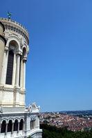 Notre Dame de Fourvière in France