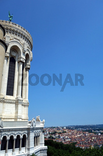Notre Dame de Fourvière in Frankreich