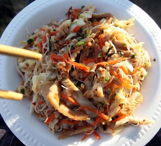 ASIA THAILAND SUKHOTHAI FOOD SEAFOOD SALAD
