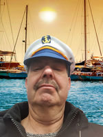 Sailor man portrait