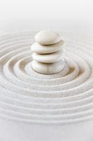 Zen japanese garden background