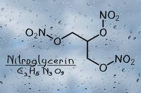 Structural model of Nitroglycerine