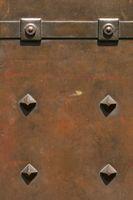 Wrought iron heavy church door