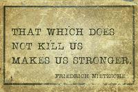 make stronger Nietzsche