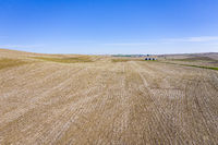 plowed fields in Nebraska Sandhills
