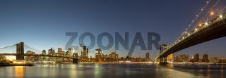 Panoramic view of Lower Manhattan, NYC