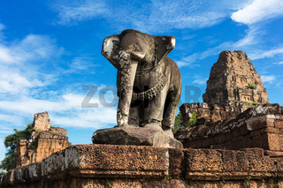 ancient elephant sculpture