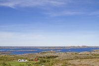 Norwegian archipelago landscape