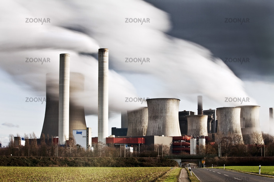 Niederaussem lignite-fired power plant, coal phase-out, Bergheim, Germany, Europe