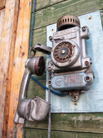 still working old russian telephone