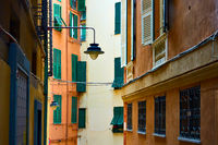 Old street in Genoa